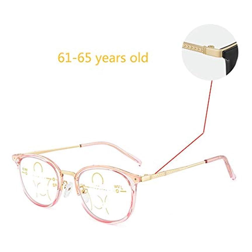 ファッション老眼鏡、遠近両用老眼鏡。有害な青色光、真空IPめっき技術、透明で頑丈なフレーム、柔らかいプラスチック製の鼻パッドをブロックします。