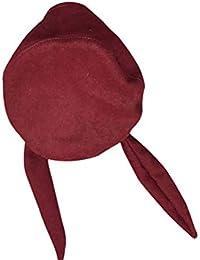 [YEMOCILE] ニット帽 ベレー レディース マスクを贈る うさぎ耳付き 無地 フェルト 小顔効果 ファッション カジュアル 防寒対策 アウトドア用 秋冬