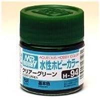まとめ買い!! 6個セット「水性ホビーカラー クリア-グリ-ン H94」