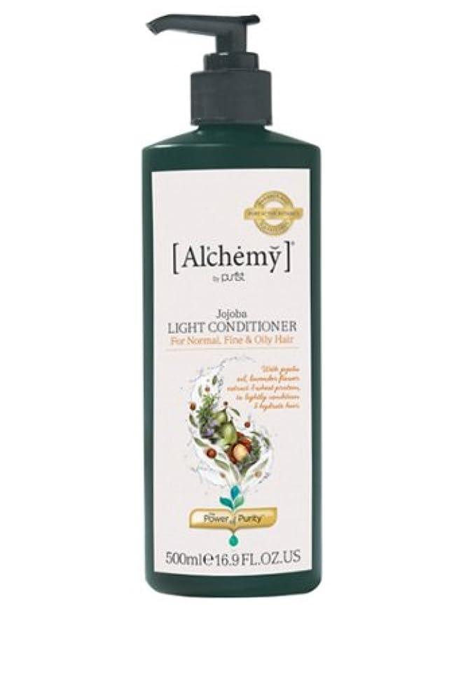 スライス名前で人質【Al'chemy(alchemy)】アルケミー ホホバライト コンディショナー(Jojoba, Light Conditioner)(ノーマルヘア用)お徳用500ml