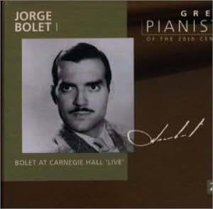 20世紀の偉大なるピアニストたち~ホルヘ・ボレット