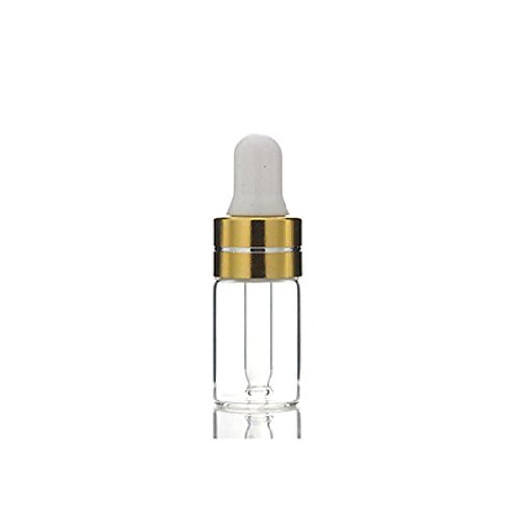 祖父母を訪問学ぶ腰3ml 24Pcs Empty Upscale Refillable Amber/Clear Glass Massage Oil Essential Oil Elite Fluid Cosmetics Sample Dropper...