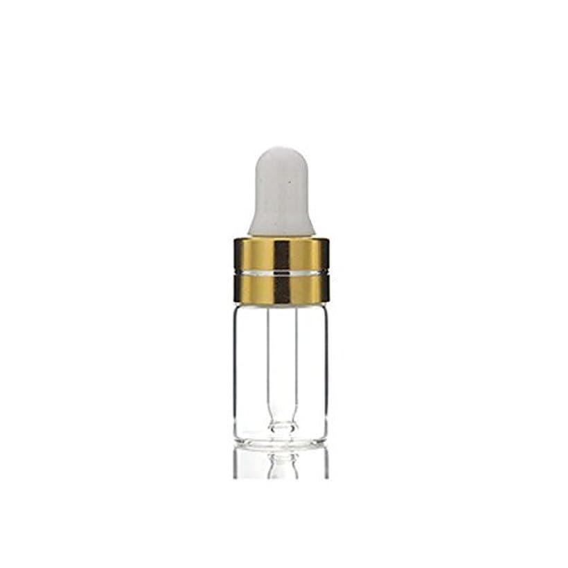 コーチ超音速の頭の上3ml 24Pcs Empty Upscale Refillable Amber/Clear Glass Massage Oil Essential Oil Elite Fluid Cosmetics Sample Dropper...