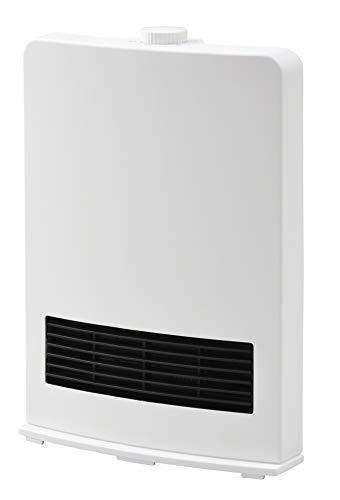 山善 セラミックヒーター(1200W/600W 2段階切替) ホワイト DF-J121(W)...