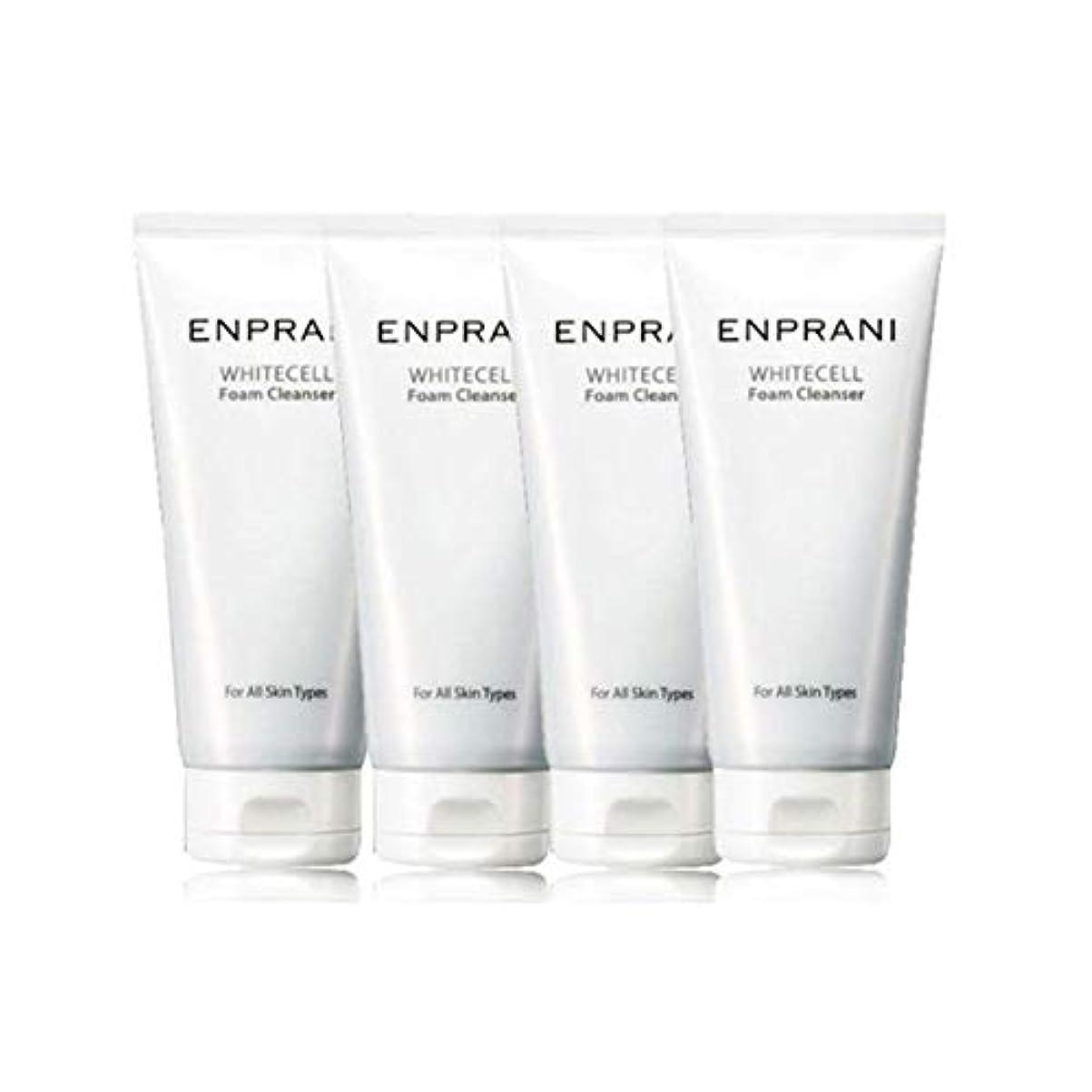 文字偏見ジーンズエンプラニホワイトセル、フォームクレンザー100mlx 4本セット毛穴洗浄 皮膚管理、Enprani White Cell Foam Cleanser 100mlx 4ea Set Pore Cleaning Skin Care [並行輸入品]