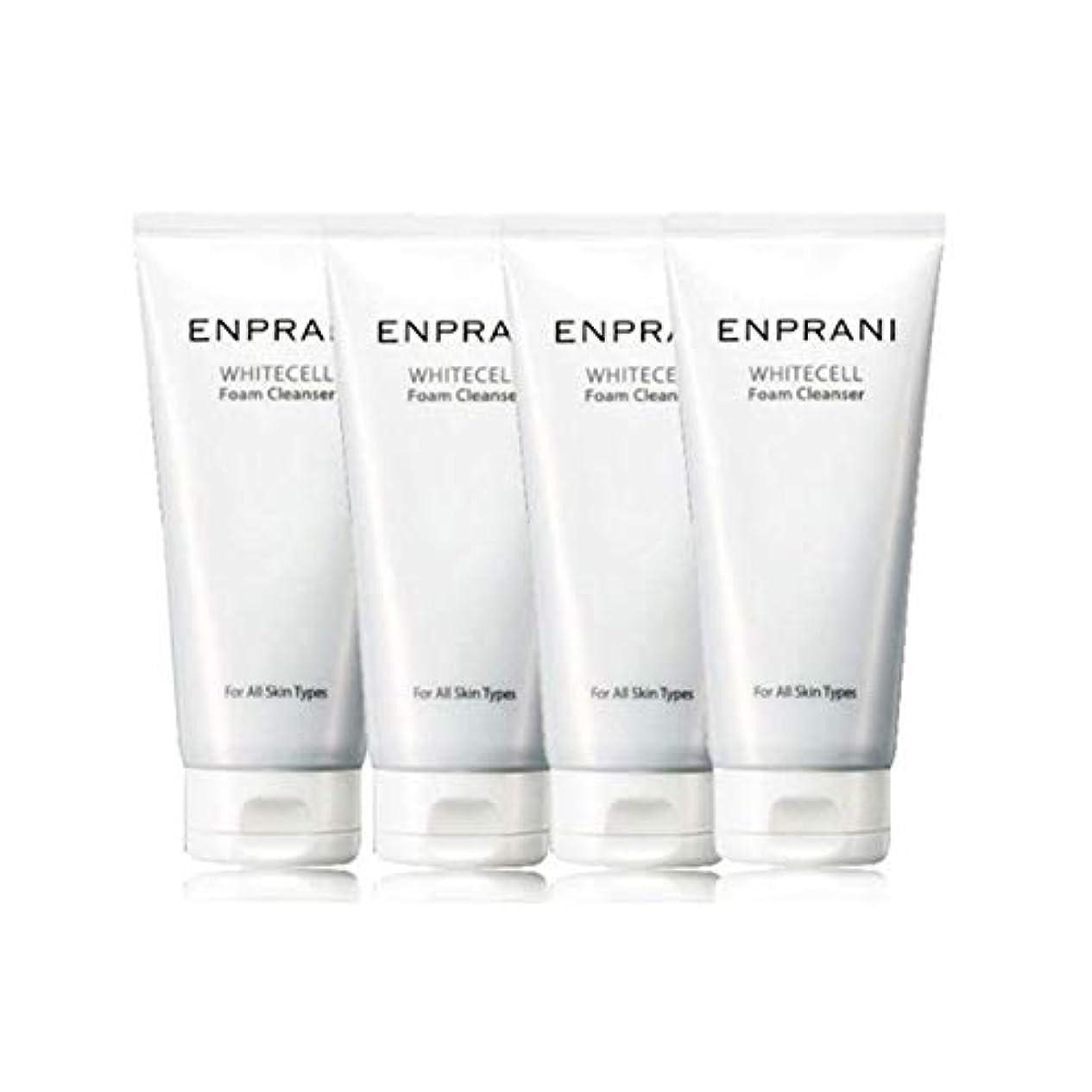熟達したへこみコーンエンプラニホワイトセル、フォームクレンザー100mlx 4本セット毛穴洗浄 皮膚管理、Enprani White Cell Foam Cleanser 100mlx 4ea Set Pore Cleaning Skin...