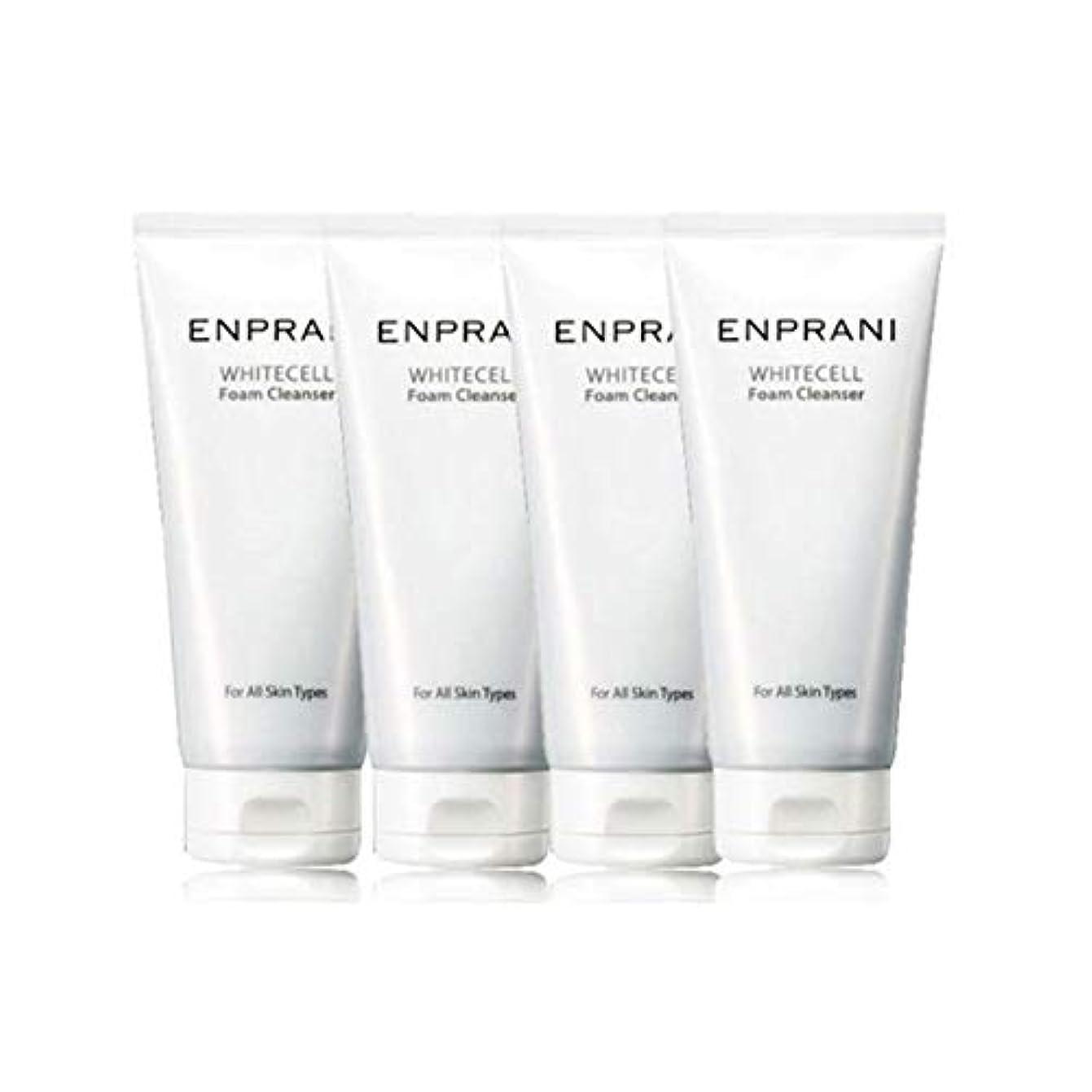 免疫アヒルワイドエンプラニホワイトセル、フォームクレンザー100mlx 4本セット毛穴洗浄 皮膚管理、Enprani White Cell Foam Cleanser 100mlx 4ea Set Pore Cleaning Skin...