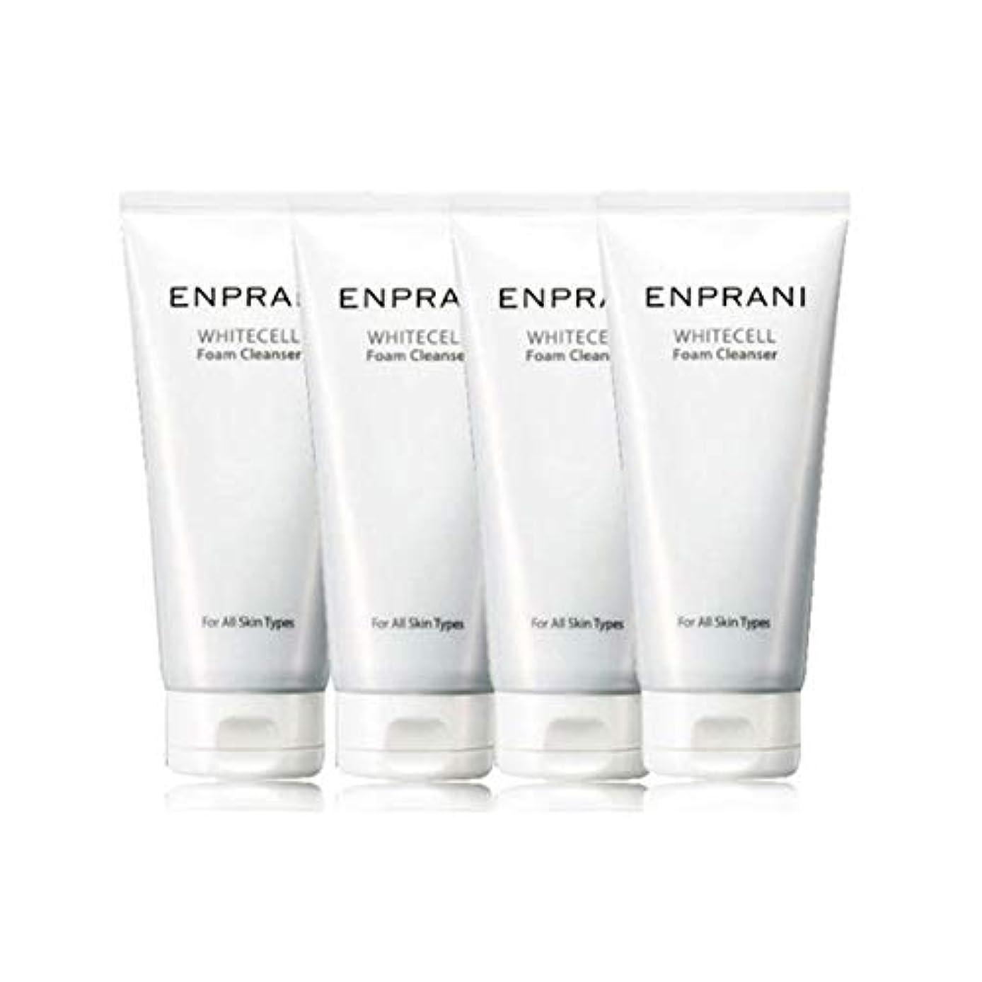 チェスをするオッズ老朽化したエンプラニホワイトセル、フォームクレンザー100mlx 4本セット毛穴洗浄 皮膚管理、Enprani White Cell Foam Cleanser 100mlx 4ea Set Pore Cleaning Skin...