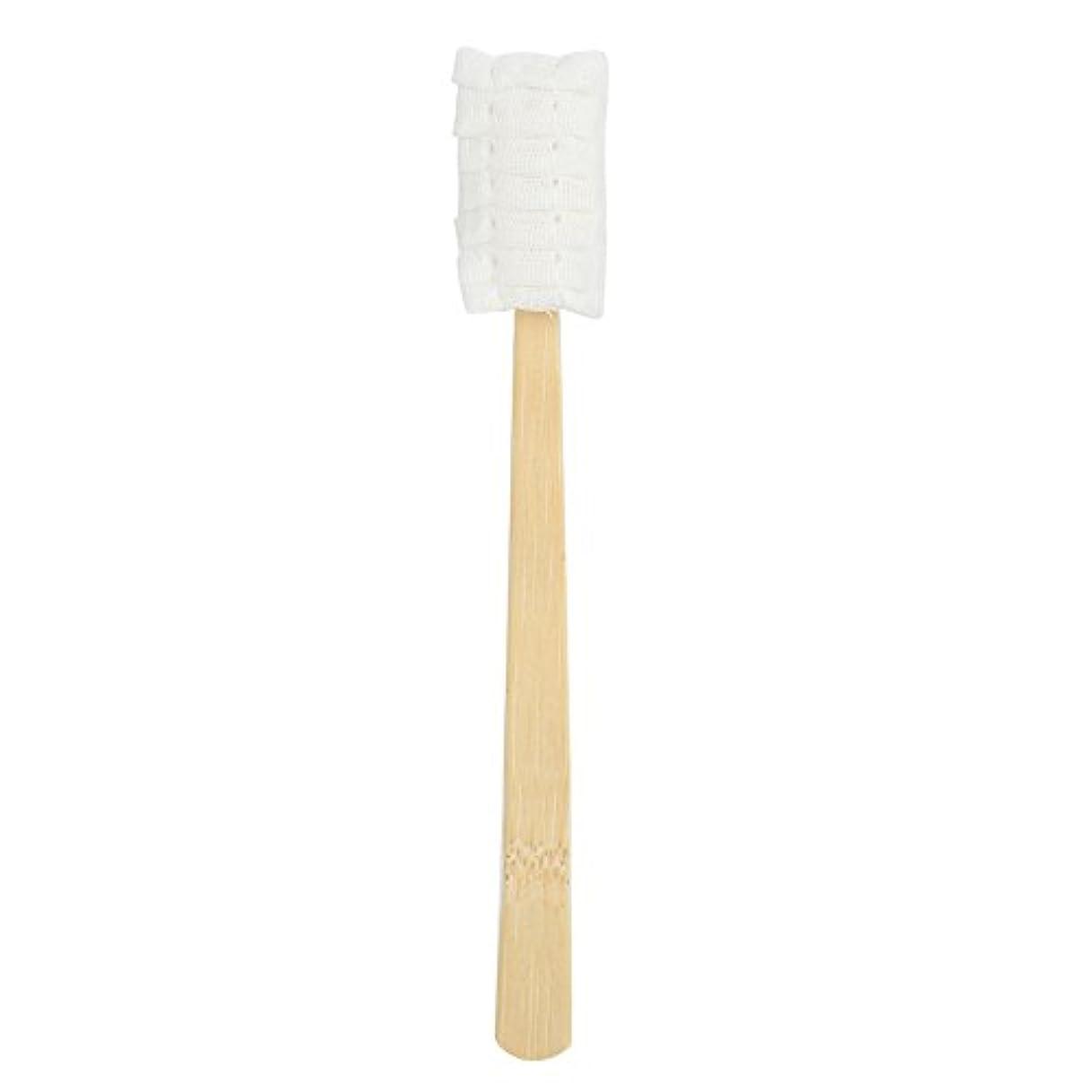 息切れスチュアート島印象的30pcs使い捨てマタニティソフトガーゼ歯ブラシ
