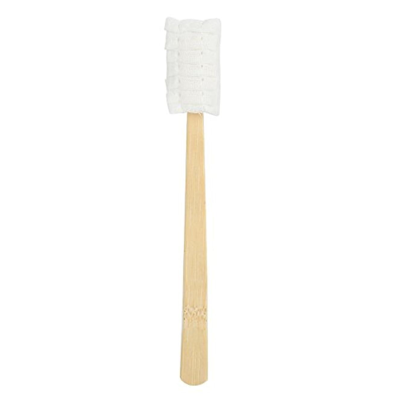 オーバーラン毎年指30pcs使い捨てマタニティソフトガーゼ歯ブラシ