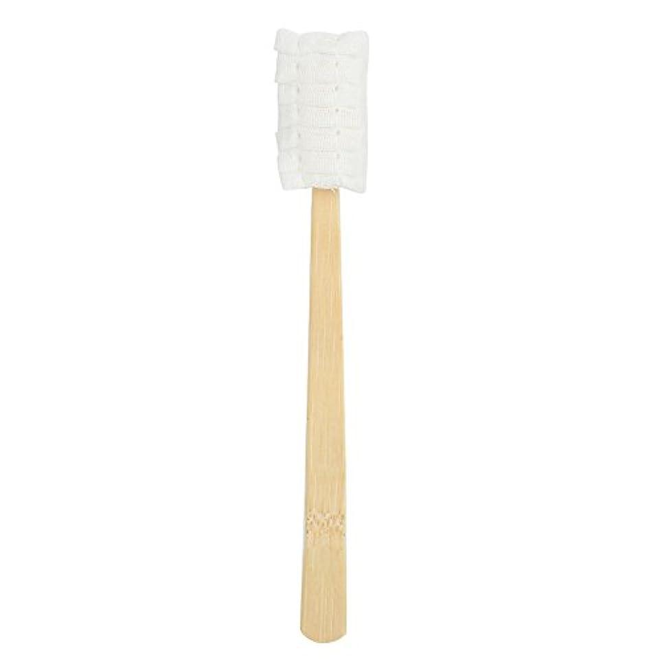 フォアマン借りる丘30pcs使い捨てマタニティソフトガーゼ歯ブラシ