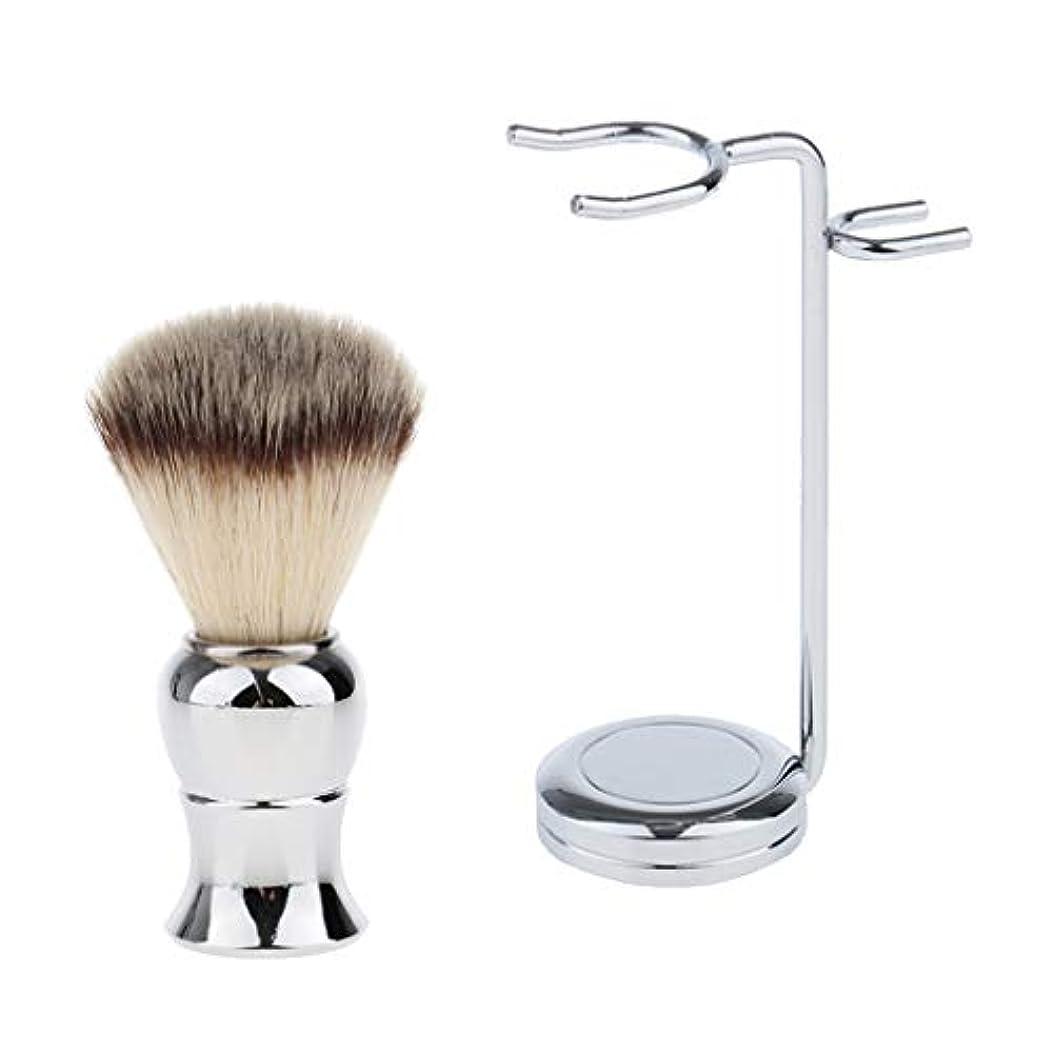 文セミナースリムdailymall カミソリシェービングブラシスタンド ホルダー ラック シェービングブラシ 理容 洗顔 髭剃りメンズ