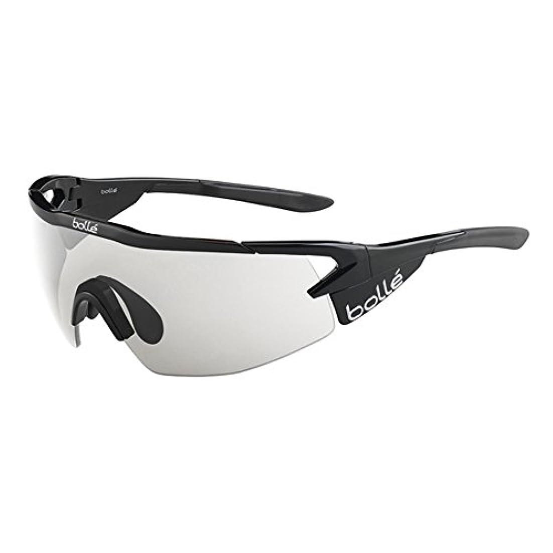 オピエートアウトドア難しいサングラス クリア調光レンズ Aeromax Matte Black Modulator Clear Gray