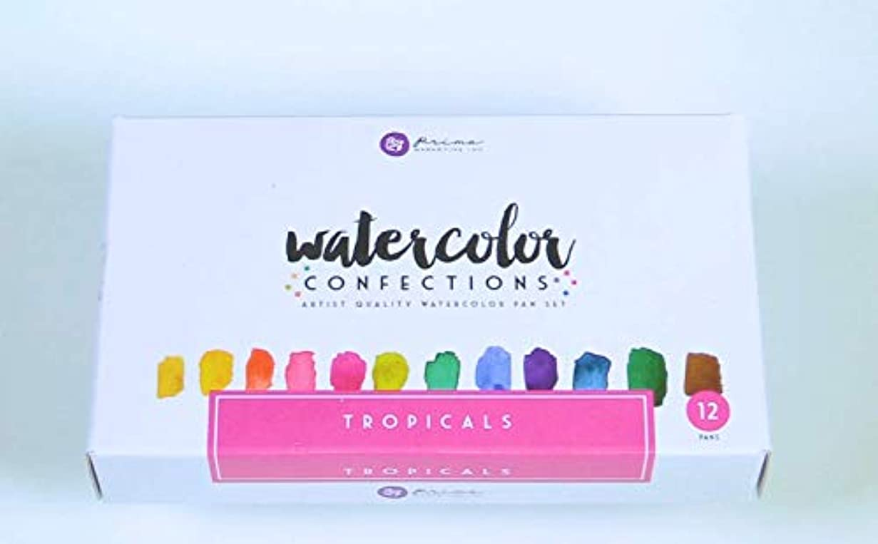 下位母音踏みつけプリママーケティング584269水彩Confections : Tropicals