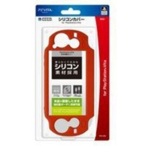 【PS Vita】シリコンカバー for PlayStation(R)Vita(レッド) 【税込】 ホリ [PSV-053]