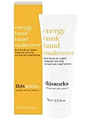This Works energy bank hand makeover 75ml - これは、エネルギーバンク手変身75ミリリットルの作品 (This Works) [並行輸入品]