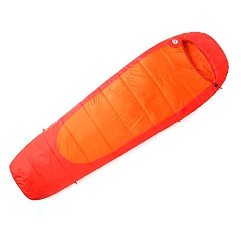キーイサカ勝者圧縮袋が付いている大人のミイラの寝袋、3-4季節のキャンプのための防水の軽量、ハイキング、旅行、バックパッキングおよび屋外の、220×80×55 cm
