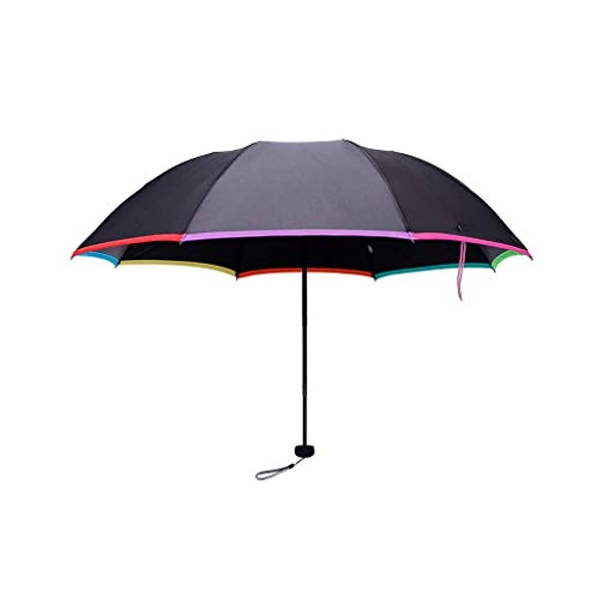 締めるハッピー期限Py 傘傘傘厚い日焼け止め抗UV傘デュアルユース折りたたみ傘シンプルなスタイル
