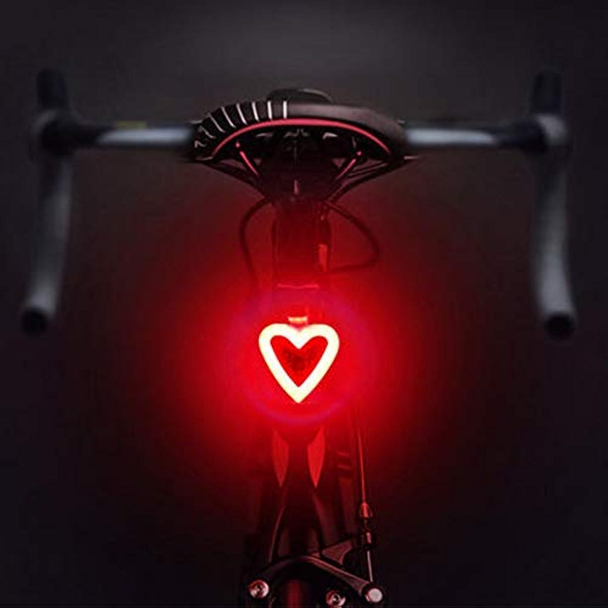 乱れ処理パニック充電式自転車ライト 自転車用リアライト、5つのライトモード自転車用テールライト、USB充電式自転車用ライトフック&ループストラップ付き防水自転車用ライトあらゆるバイク/ヘルメット、レッド&ブルーライトにフィット (Color : Pattern-03)