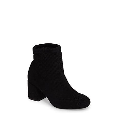 セイシェルズ シューズ ブーツ&レインブーツ Seychelles Ad Lib Sock Bootie (Women) Black Fabr [並行輸入品]