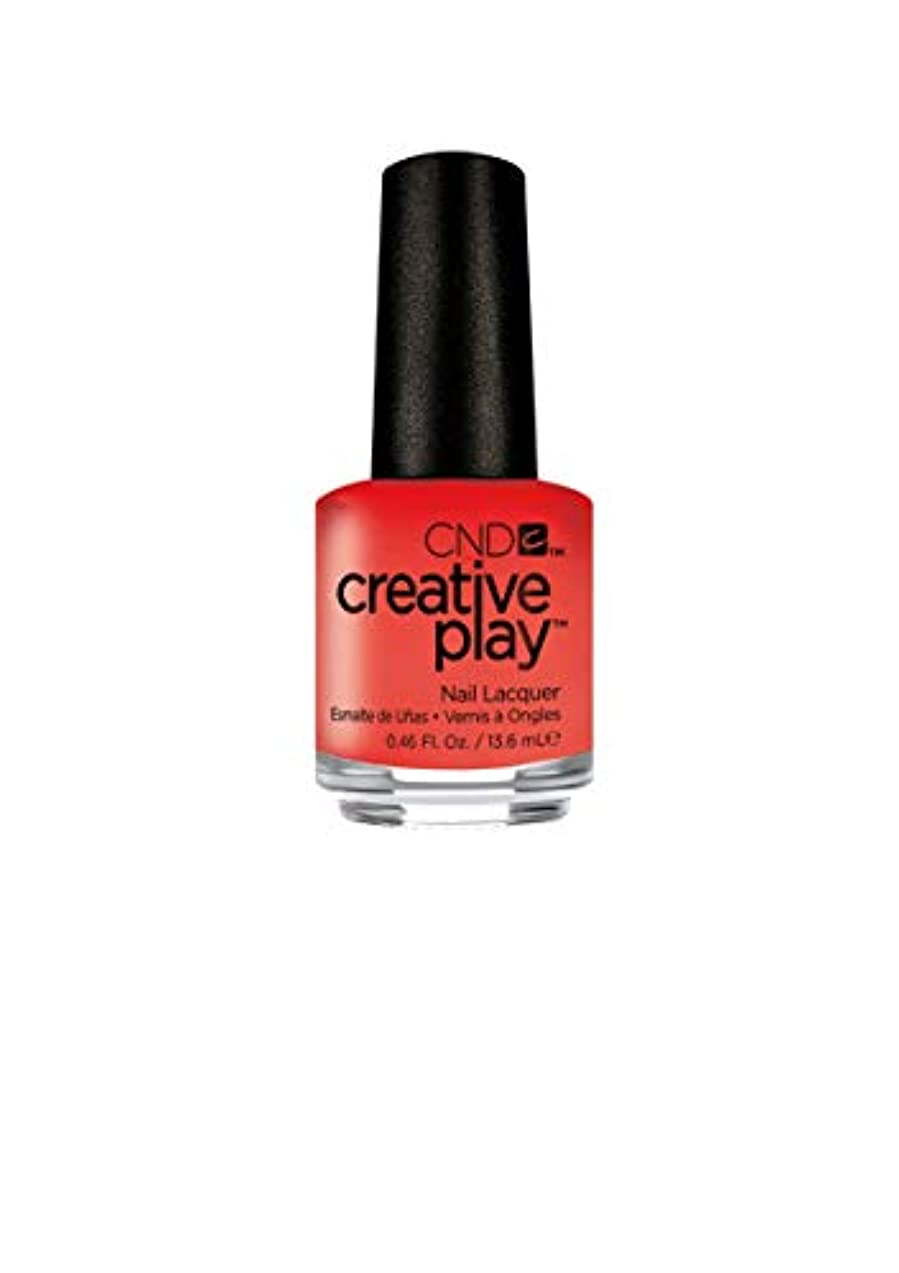 ストライド代替欺CND Creative Play Lacquer - Peach of Mind - 0.46oz / 13.6ml