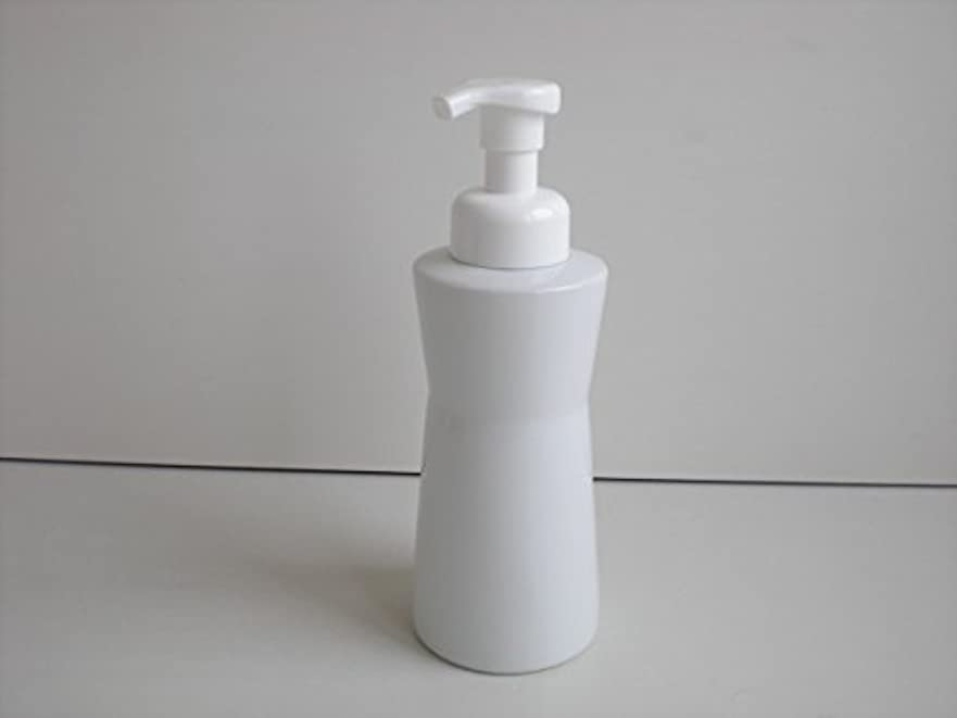用心ブリッジペルセウス泡ポンプ 泡ボディ ホワイトガーデンムースボディポンプ  500ml 白磁器