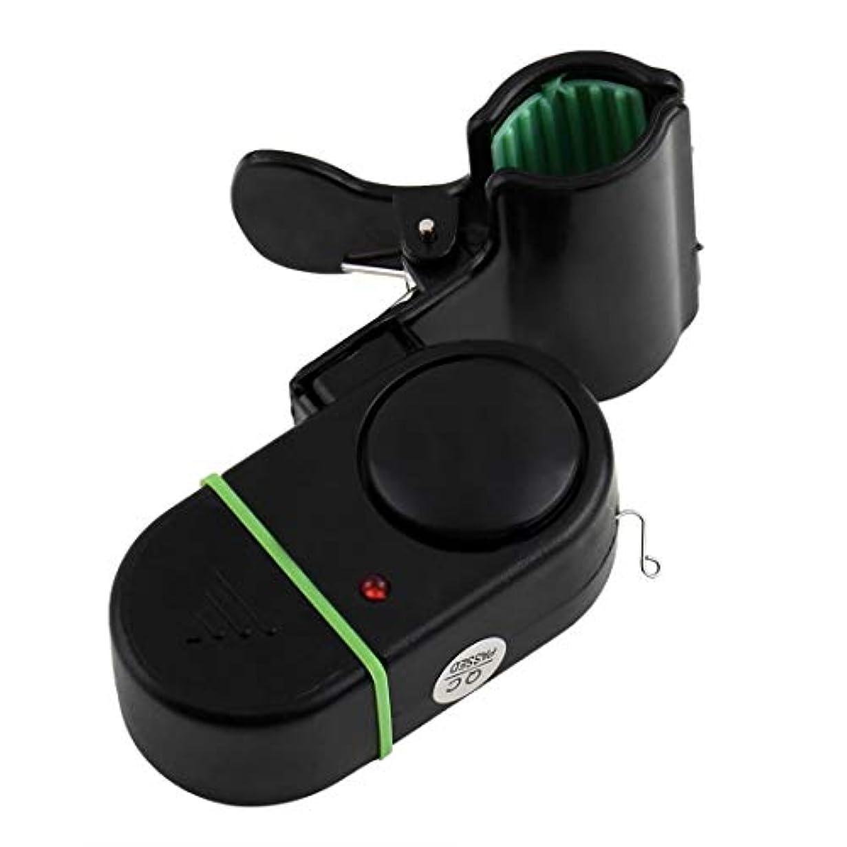 本質的ではない消費開発釣り竿 電子噛む魚の警報鐘釣竿W / LEDの省エネの音および軽い警報装置最大80dBまでの最大音量、ボルトレスシール付きの外層、耐久性のあるABS製