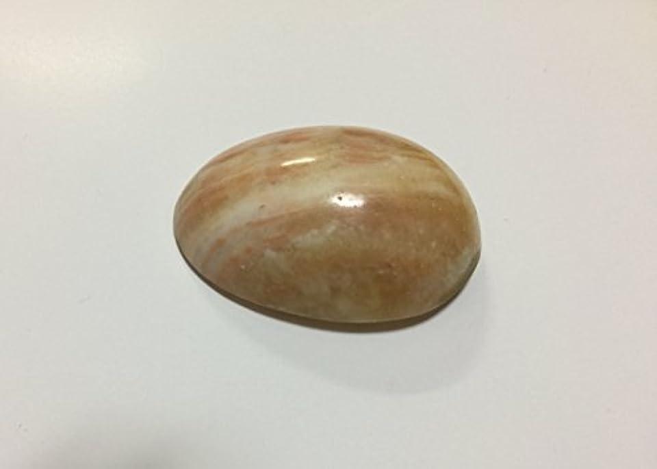 広大な光沢寝るマッサージ卵型石