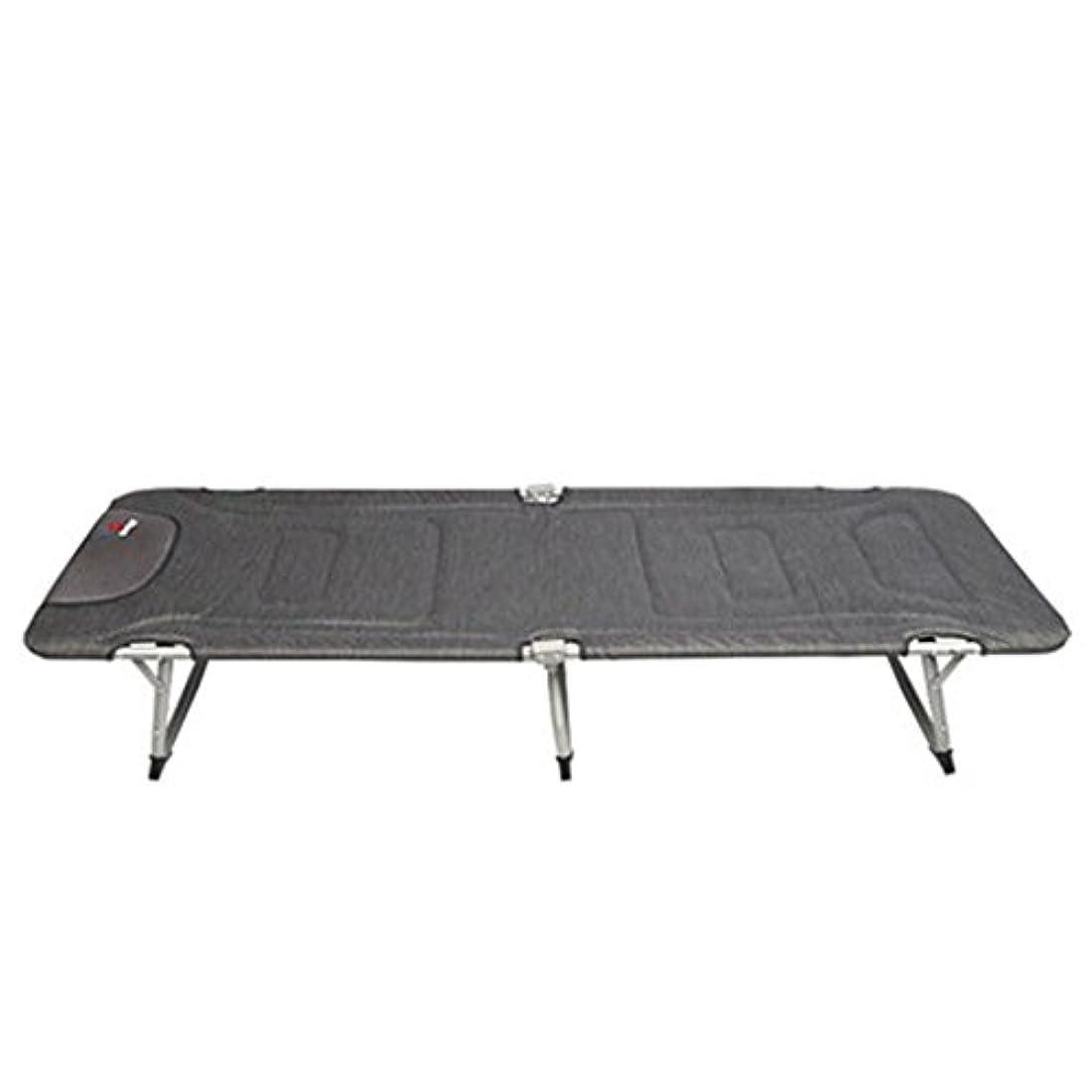 アーネストシャクルトン愛国的な耐久折りたたみ式ベッド 折りたたみベッドグレーベッドシングルベッドオフィス夏のナップベッド便利な椅子キャンプベッド192 * 56 * 29センチメートル