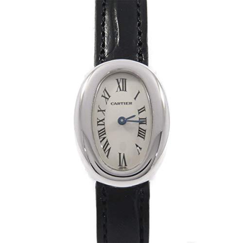 [カルティエ] Cartier W1518956 ミニベニュワール WG クォーツ(2600028747420) 中古