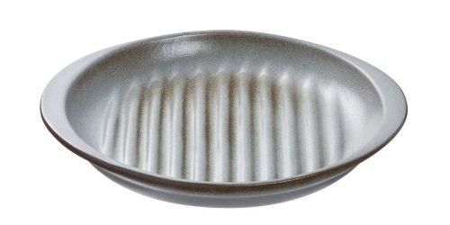 魔法のお皿 電子レンジで魚が焼ける 丸型 白 箱1枚