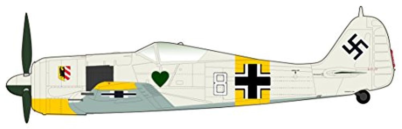 ホビーマスター 1/48 Fw190 A-4 フォッケウルフ ホワイト8 完成品