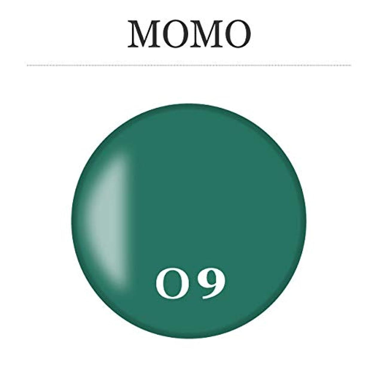 実際の子音警告するカラージェル MOMO-09 by nail for all