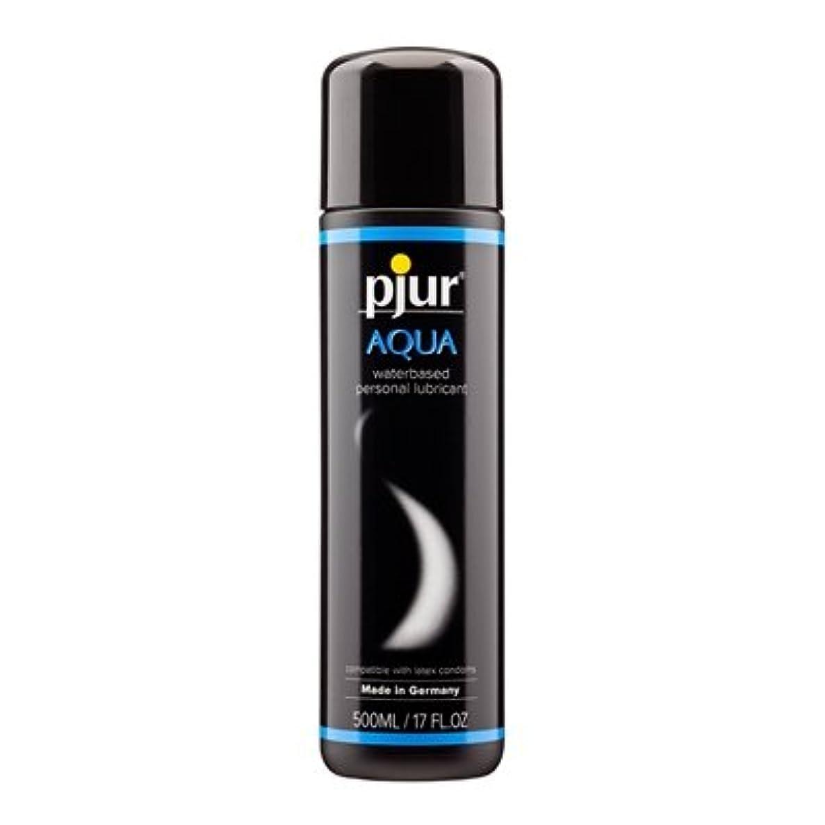 ペストリー輪郭密Pjur Aqua Bottle Lubricant- 500ml
