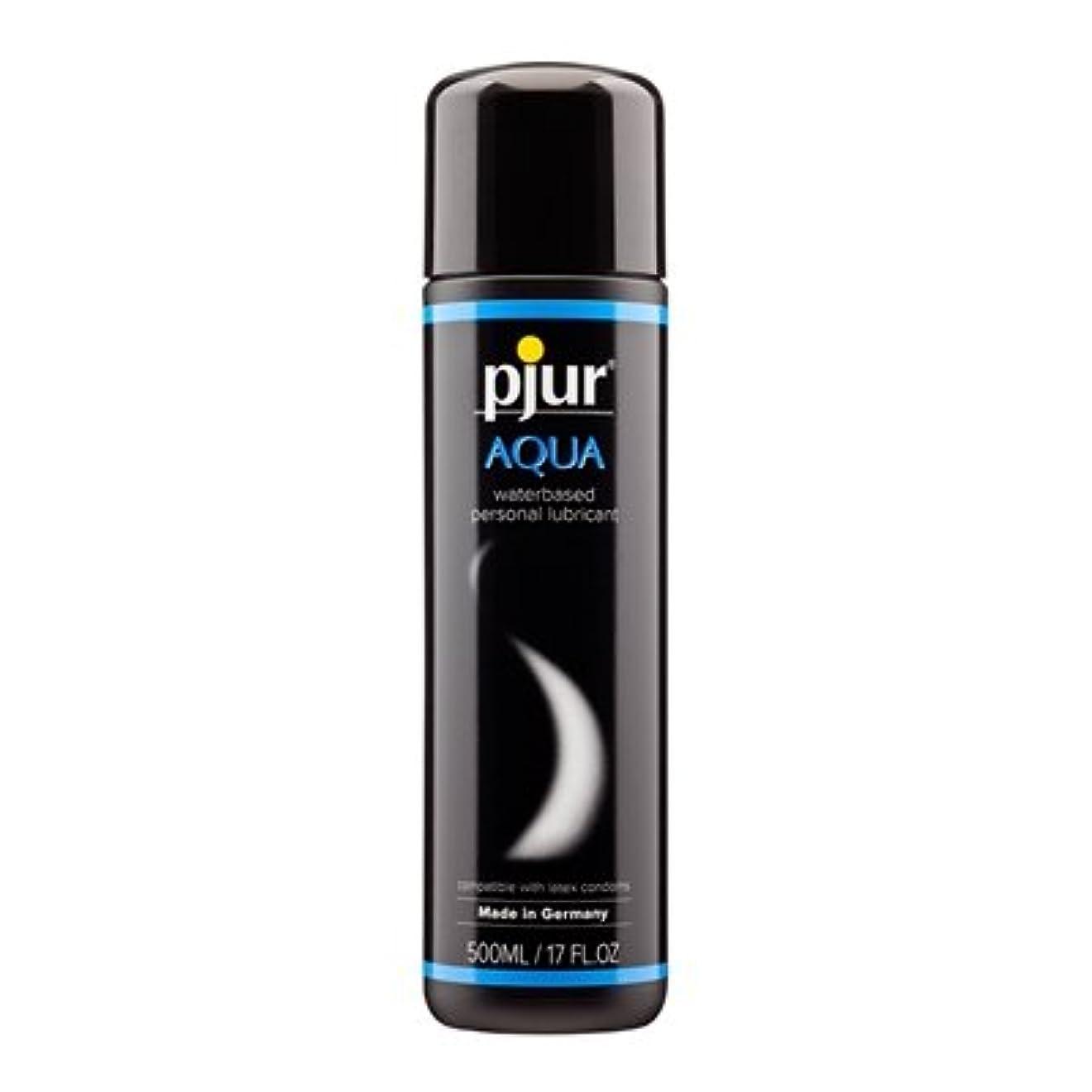守銭奴鋸歯状記念品Pjur Aqua Bottle Lubricant- 500ml