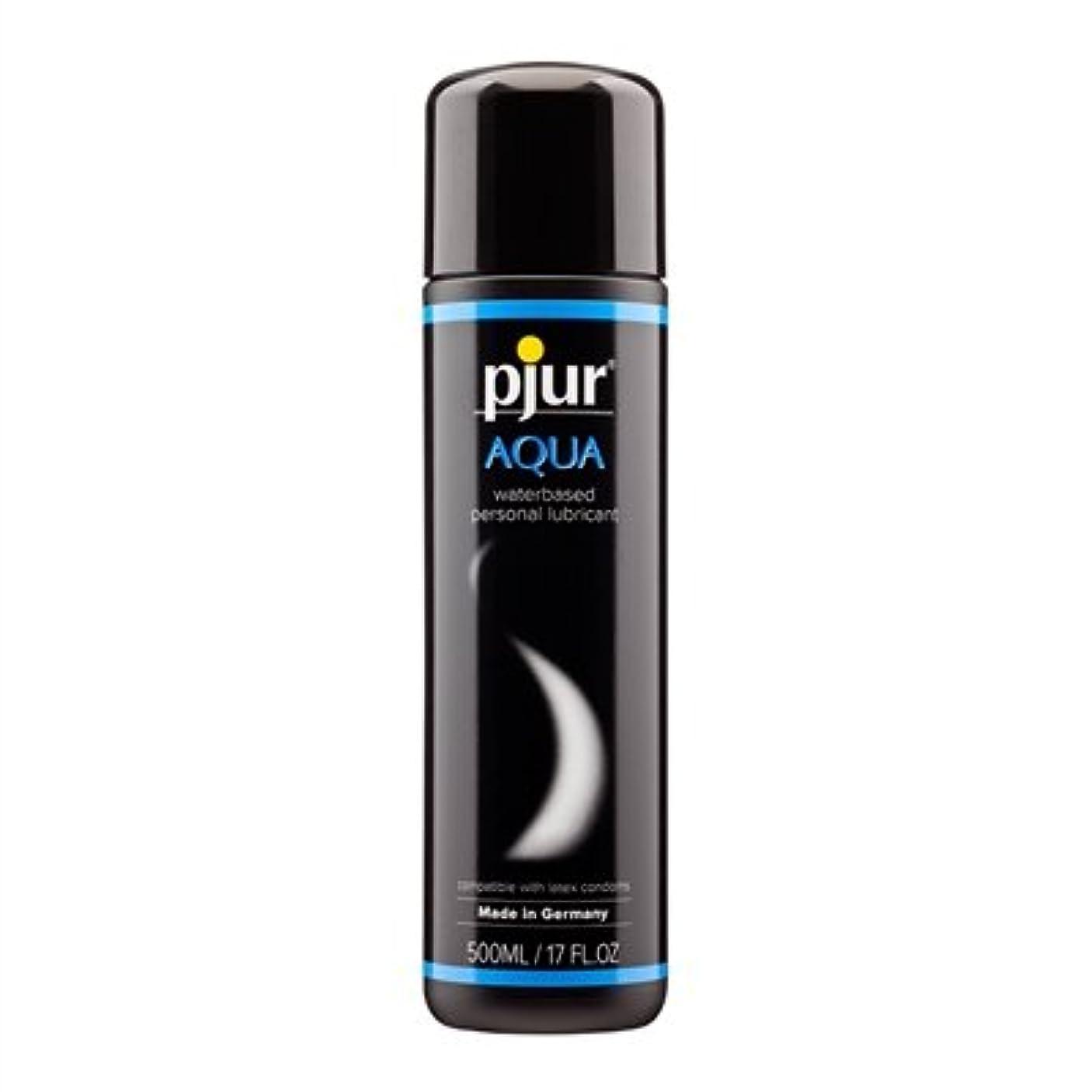 意気揚々ガレージ指定Pjur Aqua Bottle Lubricant- 500ml