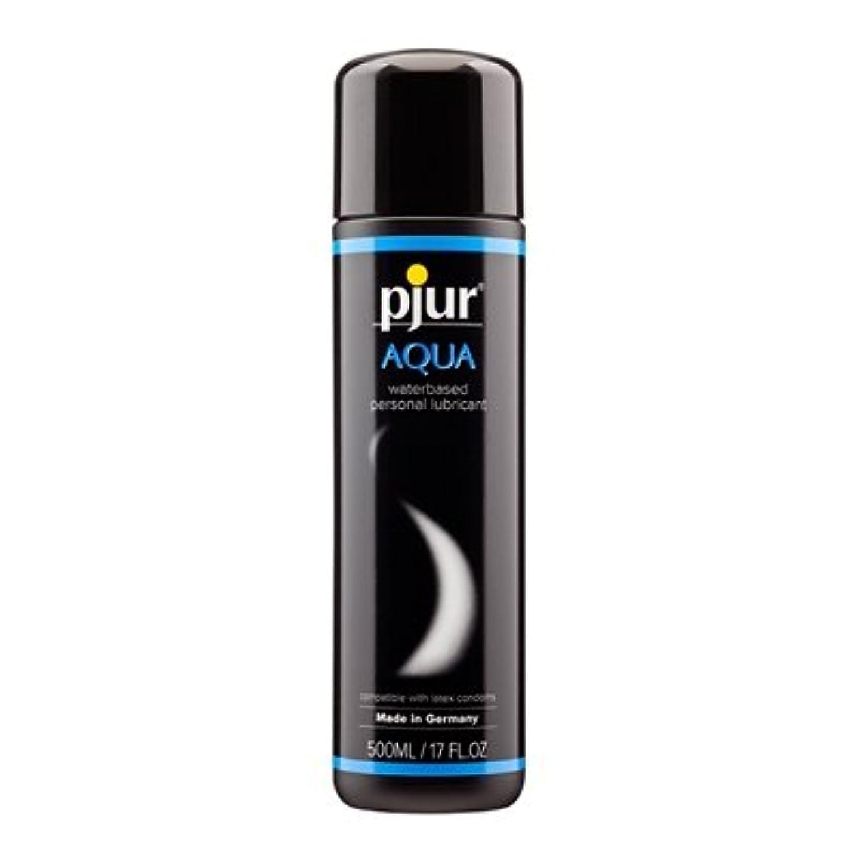 女の子仮定するPjur Aqua Bottle Lubricant- 500ml