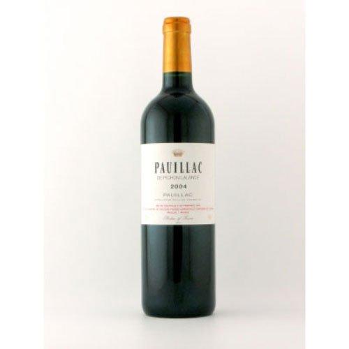 ポイヤック・ド・ピション・ラランド 2004 フランス ボルドー 赤ワイン 750ml