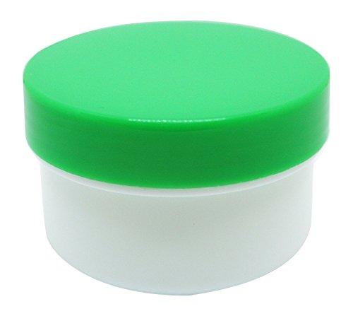 軟膏容器プラ壷A-4号 未滅菌 33CC 50コイリ キャップ:緑