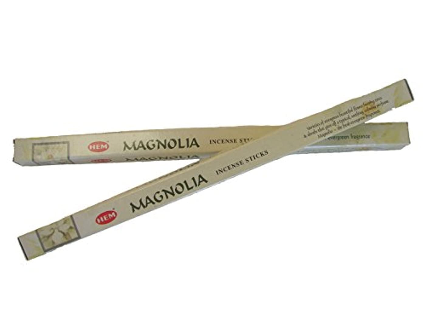シュガー草途方もない4 Boxes of Magnolia Incense Sticks