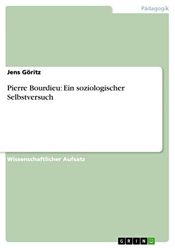 Pierre Bourdieu Fachbücher & Lernen Ein Soziologischer Selbstversuch Bücher