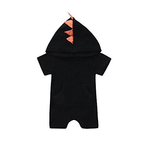 dab1dfd96e0 パジャマ アンサンブル Timsa かわいい 小恐竜 ロンパース ベビー服 女の子 赤ちゃん服 幼児 子供服 男の子 フード