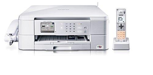 brother プリンター A4 インクジェット複合機 MFC-J737DN FAX/子機1台付き/無線LAN