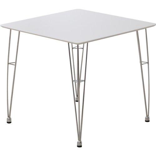 カジュアル&モダン デザイナーズダイニングテーブル[ホワイト](テーブル単品)