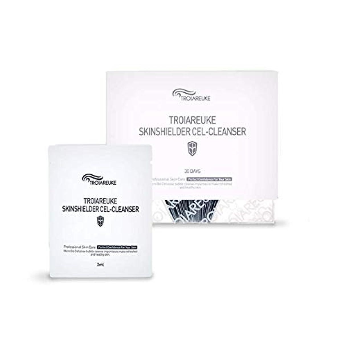 艶花火輝度TROIAREUKE (トロイアルケ) スキン シールダー セル クレンザー  / Skinshielder Cel Cleanser (30ea) [並行輸入品]