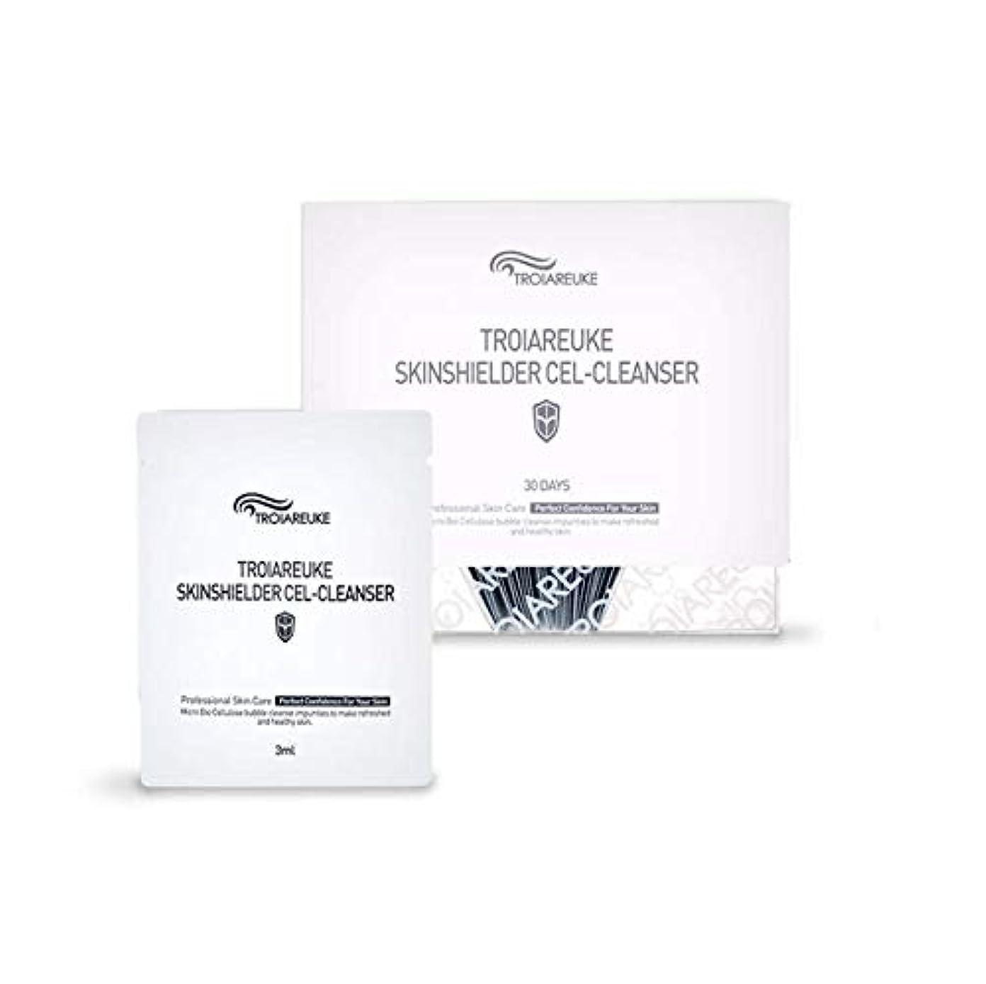 報告書呼ぶ委任するTROIAREUKE (トロイアルケ) スキン シールダー セル クレンザー  / Skinshielder Cel Cleanser (30ea) [並行輸入品]