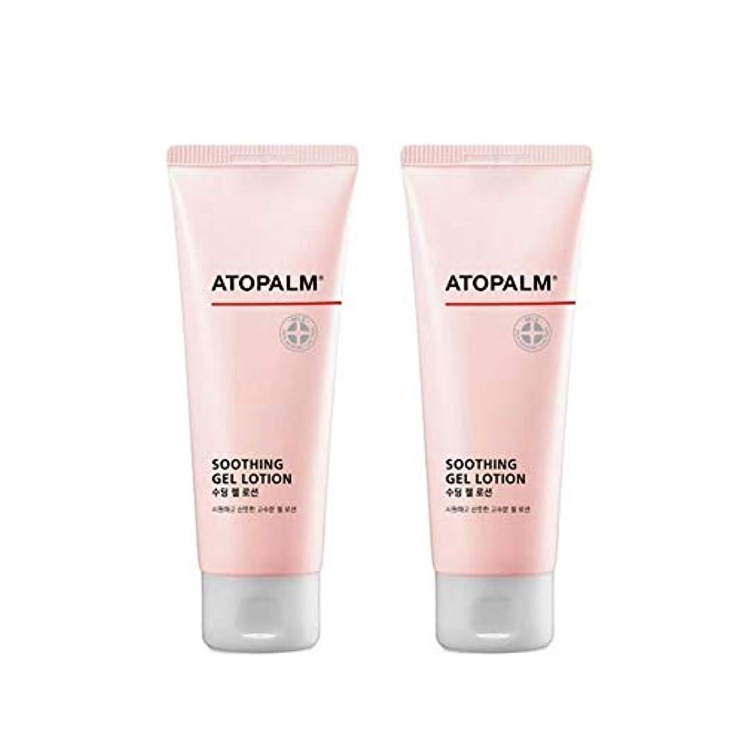 時系列コンドーム回路アトパムスディンジェルローション120mlx2本セットベビーローション韓国コスメ、Atopalm Soothing Gel Lotion 120ml x 2ea Set Baby Lotion Korean Cosmetics...