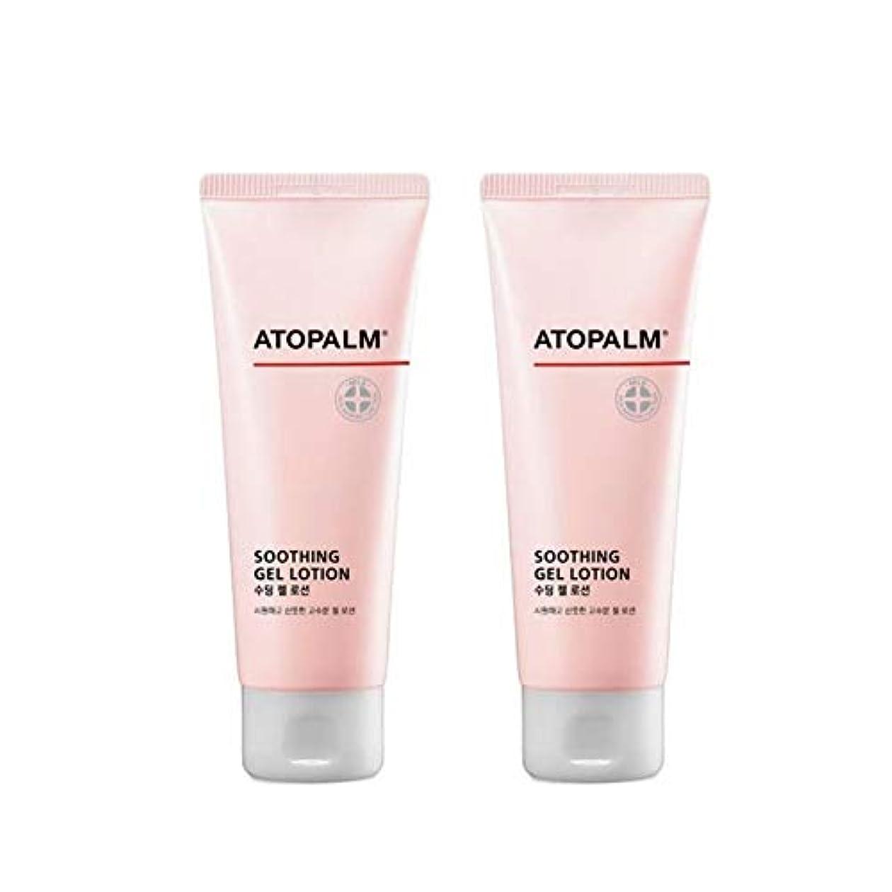 地殻難民非効率的なアトパムスディンジェルローション120mlx2本セットベビーローション韓国コスメ、Atopalm Soothing Gel Lotion 120ml x 2ea Set Baby Lotion Korean Cosmetics...