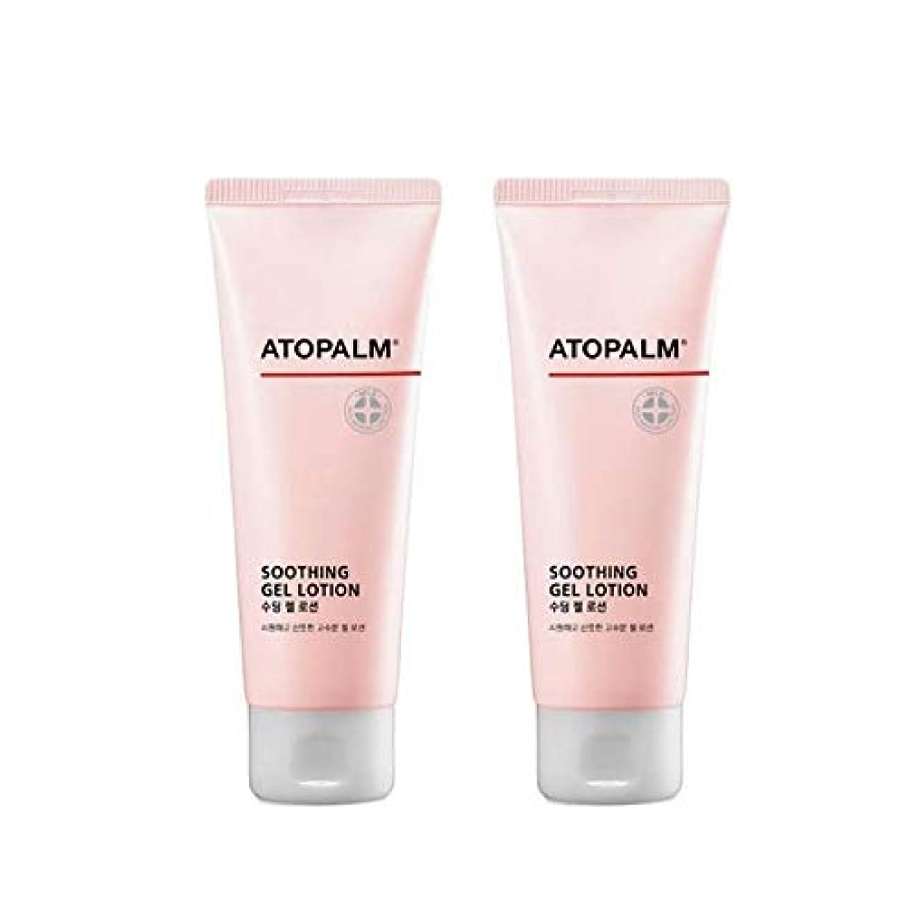 転送とげのある虫アトパムスディンジェルローション120mlx2本セットベビーローション韓国コスメ、Atopalm Soothing Gel Lotion 120ml x 2ea Set Baby Lotion Korean Cosmetics...