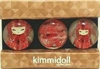 キミドール KIMMIDOLL ガラスマグネット 3個セット KF0938  [YOKA]